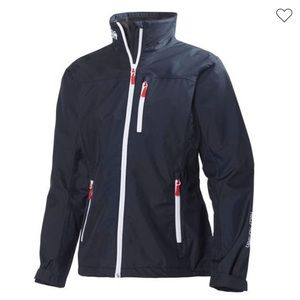 Black Helly Hansen Waterproof Jacket